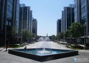 31.Fontana u okviru Kompleksa Aerport City u Beogradu, isporuka i montaža opreme - mlaznice za fontanu