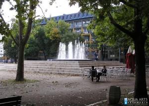 33.Fontana u Studentskom gradu, Beograd, Projekat, isporuka i montaža opreme