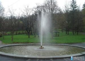 34.Fontana u Topčiderskom parku, Beograd, izrada mlaznice za gejzir fontane, isporuka i montaža opreme