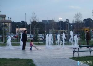 4.Fontana ispred Univerziteta u Podgorici, Projekat