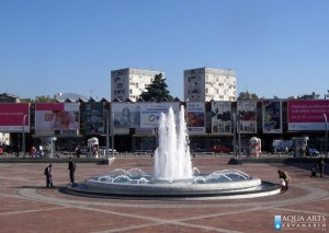 6.Fontana na Trgu Republike u Podgorici, Projekat