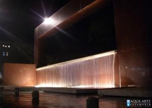 10.Fontana na Trgu Republike u Podgorici, Noć, Projekat