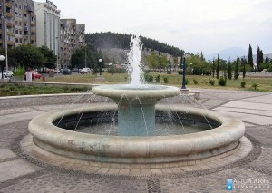 11.Fontana Pobrežje u Podgorici, Projektovanje i Izrada Fontane
