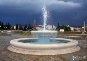 12.Fontana Pobrežje u Podgorici, Projektovanje i Izrada Fontane