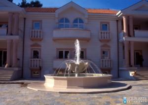 14.Fontana ispred Sale za Vjenčanje u Podgorici, Projektovanje i Izrada Fontane