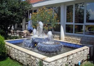 16.Fontana u okviru preduzeća Žitopromet Spuž, izrada fontane, isporuka i montaža opreme