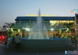 17.Fontana ispred Luke Bar, izrada fontane, isporuka i montaža opreme