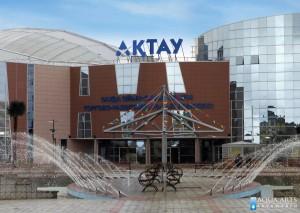 1.Fontana ispred Multifunkcionalnog centra, Aktau, Kazakstan, isporuka opreme