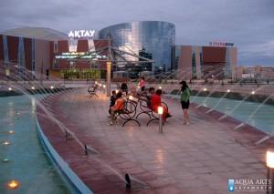 2.Fontana ispred Multifunkcionalnog centra, Aktau, Kazakstan, isporuka opreme