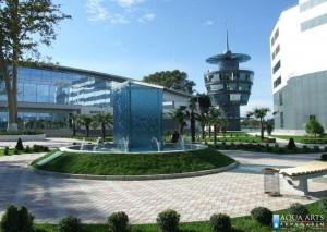 3.Fontana u okviru Sporskog centra, Mingečaur, Azerbejdžan, isporuka i montaža opreme
