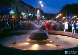 1.Gradska Fontana na Trgu u Vršcu, otvaranje, Projekat, isporuka i montaža opreme