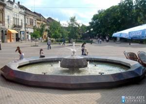 2.Gradska Fontana na Trgu u Vršcu, okruženje, Projekat, isporuka i montaža opreme