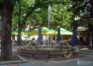 5.Fontana ispred Restorana u Vršcu, Projekat, isporuka i montaža opreme