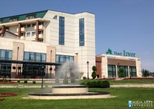 11.Fontana Sfera ispred Hotela Izvor u Aranđelovcu, Projekt i isporuka opreme za fontane