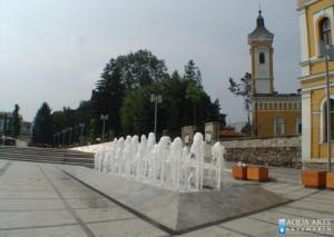 16.Gradska Fontana na Trgu u Kraljevu, isporuka i montaža opreme