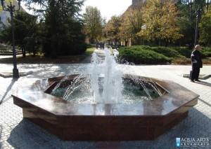 20.Fontana u parku u Vrbasu, Projekat, isporuka i montaža opreme