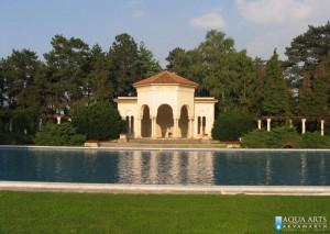 1.Isporuka i montaža opreme za dekorativni bazen u okviru rezidencije - Beli Dvor