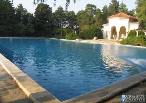 2.Otvoreni bazen pravougonog oblika, Beli Dvor, Beograd