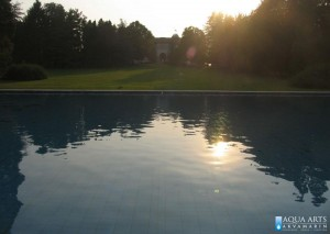 5.Pogled na bazen i rezidencije Belog Dvora, Beograd