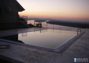 1.Projektovanje, isporuka i montaža opreme za privatni bazen u Brestoviku, sumrak