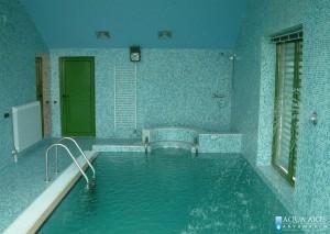 1.Projektovanje, isporuka i montaža opreme za zatvoreni privatni bazen u Grockoj