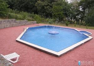 1.Projektovanje, isporuka i montaža opreme za otvoreni privatni bazen sa fontanom u Smederevu