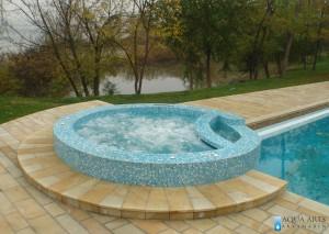 4.Hidromsažna kada kao odvojena voda i sistem do bazena