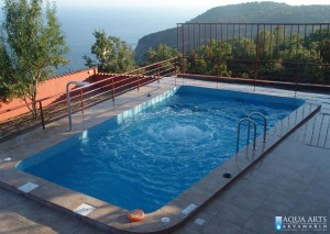 2.Otvoreni bazen sa podnom aeromasažom - vazdušnim vrelom, Brdo iznad Sutomora