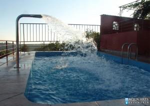 3.Hidromsažni tuš na privatnom bazenu u Sutomoru