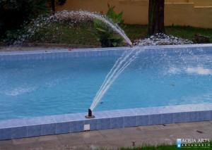 3.Fontanske mlaznice na otvorenom bazenu, efekti fontane u bazenu, Beograd