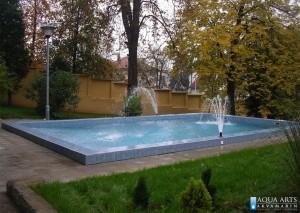 5.Izrada bazena i fontanskih mlaznica u Državnoj rezidenciji u Beogradu