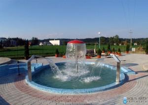 1.Hidromsažni tuševi (pologonalni oblici) i vodena pečurka, SPA centar Banja Vrujci