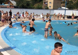 5.Vazdušni plićak u bazenu za ležanje na vazdušnoj masaži, Kompleks bazena u Tutinu