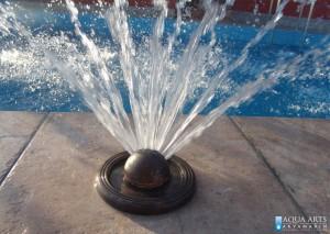 8.Fontanska mlaznica kao vodena atrakcija u bazenu, efekat vode i van sezone kupanja, privatni bazen, Sutomore