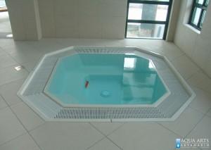 14.Hidromasažna kada kao oprema u hotelu Villa Breg u Vršcu, mirna voda, detalji opreme