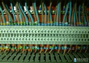 4.Detalj elektičnih instalacija u razvodnom elektro oramnu