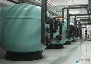 1.Isporuka i montaža opreme za Filtersko postrojenje Olimpijskog bazena u Azerbejdžanu