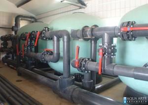 2.Montaža opreme filterskog postojenja u Loznici za Olimpijski i dečiji bazen u Sportskom Centru