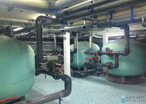 3.Projektovanje, Isporuka i montaža opreme za Kompleks bazena u Tutinu, Pumpno-Filtersko postrojenje