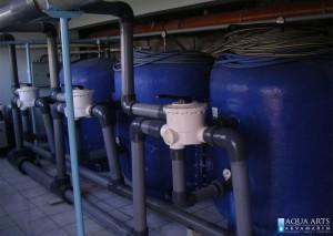 4.Filtersko postrojenje sportskog bazena u Magliću, Isporuka i montaža opreme